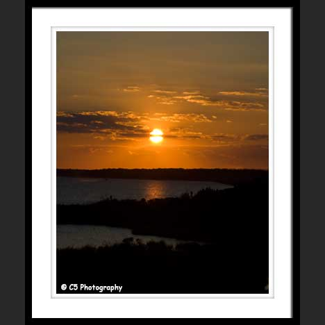 Photo of Ocean City Bay with Sunset