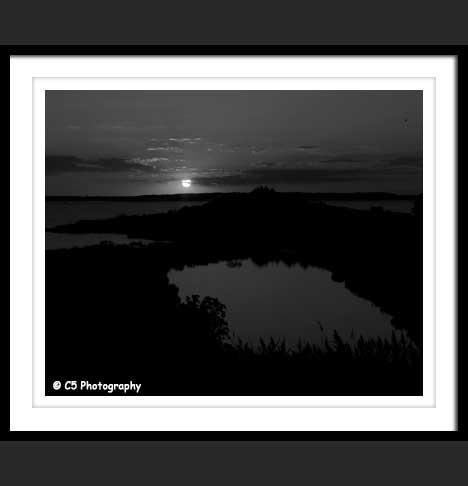 Sunset over Chesapeake Bay