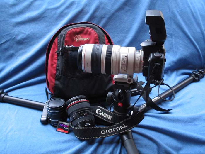 C5 Photography equipment