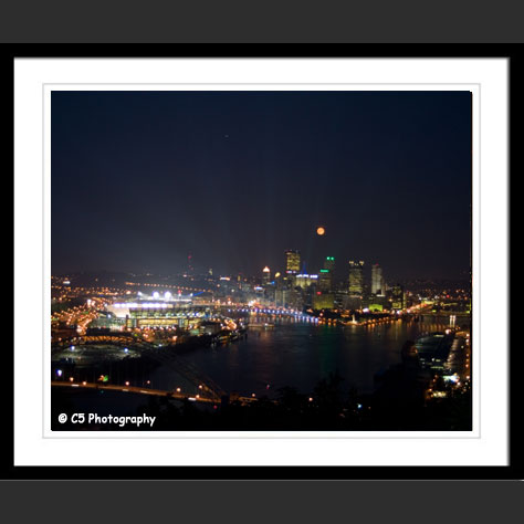 Pittsburgh Cityscape with Heinz Field Photo