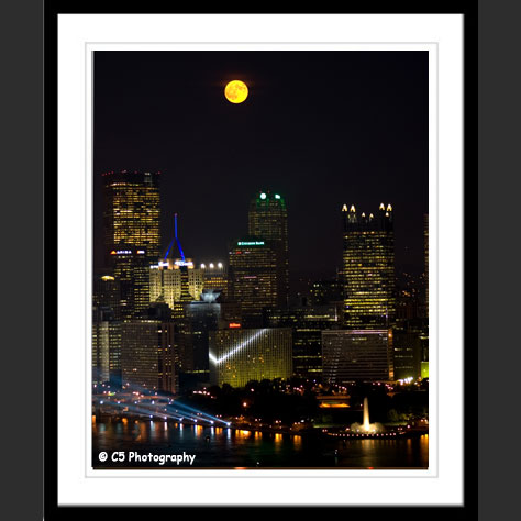 Pittsburgh unmatted, matted and framed photos for sale