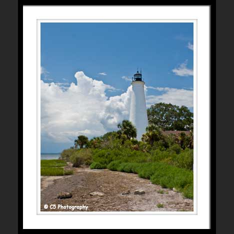 Saint Marks Lighthouse Photograph Gallery by C5 Photography