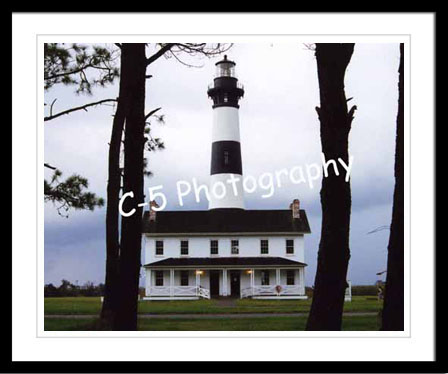 Outer Banks Lighthouses - Currituck, Bodie Island, Cape Hatteras, Old Baldy