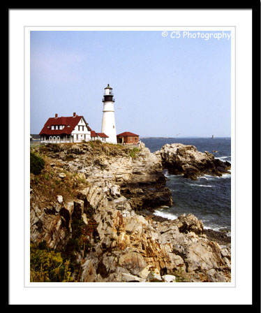 Maine Lighthouses including Portland Head, Marhsall Point, and Pemaquid