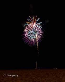 C5 Photography - Virginia Beach Firework Display 001